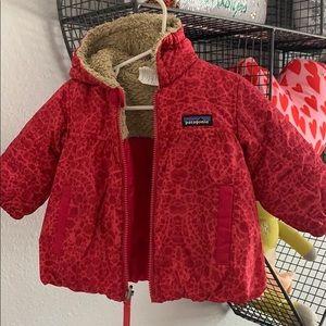 Patagonia pink puffer jacket